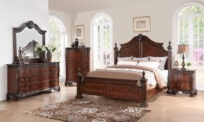 New Classic Bedroom Furniture New Classic Furniture Elsa Bedroom Set In Mahogany B1404 Set