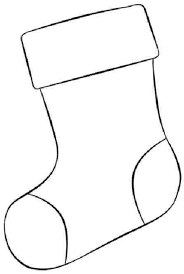 Small Picture Stocking Coloring Pages Christmas Stockings Coloring Page 1
