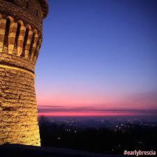 Castello di Brescia   Castello, Paesaggi, Alba