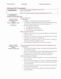 Student Nurse Resume Template Valid Graduate School Resume Template