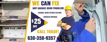 garage door repair service naperville il