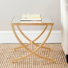 safavieh maureen gold coffee table