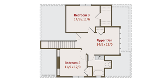Obe Sihina MaligawaCraftsman Beds   Baths Sq Ft Plan     Upper Floor