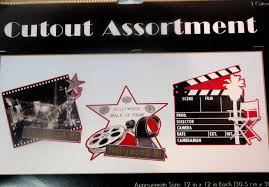 Hollywood Theme Decorations Graduation And Prom Awards Night Decorations Supplies