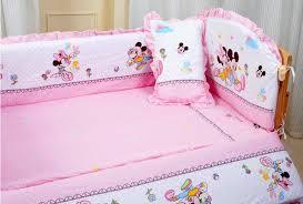 baby minnie mouse crib bedding set
