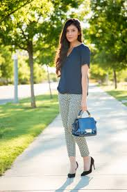 Patterned Pants Outfit