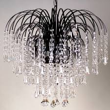 black crystal chandelier photo 5