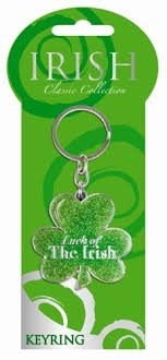 Small Picture Irish Shamrock Keyring by Shamrock Gift Company Amazoncouk