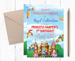 Birthday Invatations Royal Birthday Invitation Royal Birthday Party Royal Invitations Princess Birthday Invitations Princess And Knight Invitation Medieval