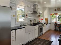 farmhouse cabinet doors. single line farmhouse kitchen with white shaker cabinets cabinet doors