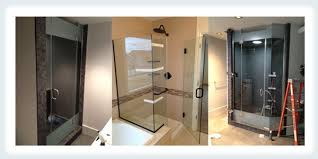 traditional and modern custom shower doors in edmonton