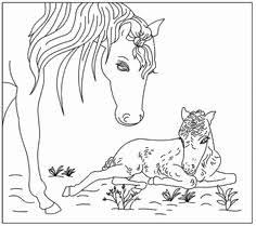 Kleurplaat Paard Met Veulen Mooi 100 Beste Afbeeldingen Van Lente