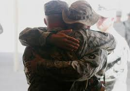 soldier bro hug