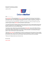 Sample Donation Letters Sample Fundraising Letters