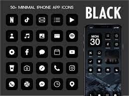 iOS Black App Icons