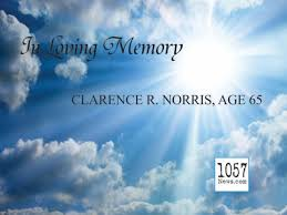 CLARENCE RAYMOND NORRIS, AGE 65 – 105.7 News Crossville Rockwood Knoxville  TN