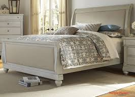 Liberty Furniture Bedroom Furniture Harbor View Iii Queen Sleigh Bed In Dove Gray 731 Br Qsl