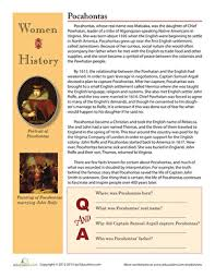 Womens History Month Worksheets Free Printables Education Com