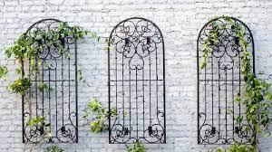 metal garden trellis wall trellis