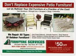 outdoor furniture refinishing dy