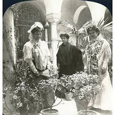 stretched canvas art spain seville c1908 n typical pretty girls on typical wall art size with stretched canvas art spain seville c1908 n typical pretty