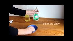 how to make natural wood furniture polish