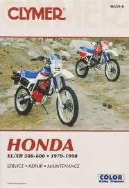 honda xl250 xr250 xl350r xr350r xr200r xr250l 1978 2000 workshop honda xl xr 500 600 1979 1990 workshop manual