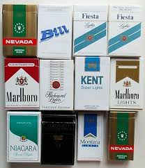 Collection 3 12 Different Uruguay Empty Cigarette Boxes