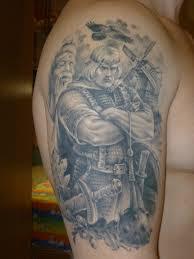 этнические татуировки рукав 0425