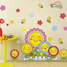 kindergarten decoration wall stickers children decorative decals kids removable rooms adhesive wall home decor removable removable stickers for walls