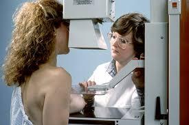 Girls first breast exam