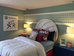 Soccer Bedroom Decor 17 Best Ideas About Volleyball Room On Pinterest Volleyball