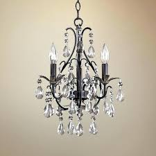 wonderful inexpensive crystal chandeliers within plug in mini attractive chandelier as well 12
