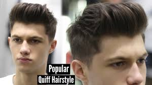 You Tube Hair Style mens haircut 2017 modern quiff hairstyle tutorial ad youtube 3961 by wearticles.com