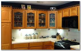 glass fronted kitchen cabinets cabinet home design ideas