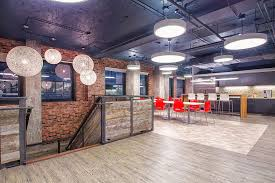 chicago office interior design after photo of a software pany cafeteria designed