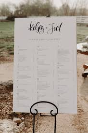 Wedding Seating Chart Wording 60 Wedding Seating Chart Ideas Junebug Weddings