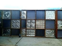 corrugated metal wall panels ted metal privacy fence panels gate cost kids room ideas kids