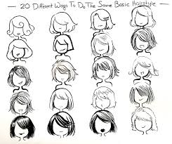 Hair Style Anime twenty ways you can draw one hair style by neongenesisevarei 5261 by wearticles.com