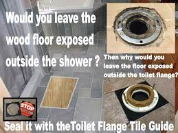 when the wax ring fails when you mop the floor when the tub over flows when the sewer backs up where does that water go everywhere even under the