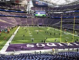 Us Bank Stadium Section 143 Seat Views Seatgeek For Us Bank