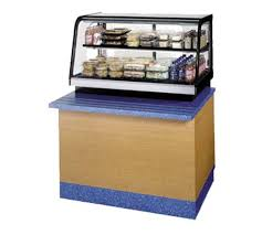 federal industries crb3628ss counter top refrigerated self serve bottom mount merchandiser