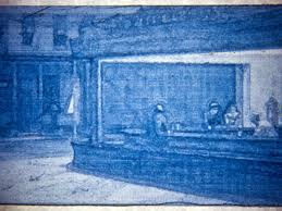 nighthawks painting by edward hopper in lithopane by alpinerbergen thingiverse