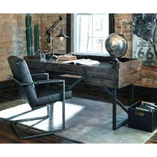 industrial style office desk modern industrial desk. Brilliant Industrial Industrial Home Office Desk Modern Rustic With Steel Base By Medium Size  Style On R