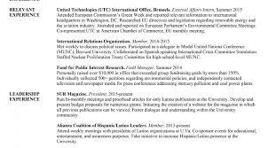 Intern Resume Example Legislative Aide Sample Resume Resume