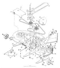 Mtd 13an695h352 1999 parts diagram for deck assembly h deck drive rh jackssmallengines mtd drive belt diagram diagram for mtd deck