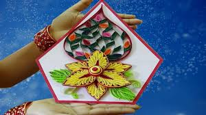 Paper Quilling Flower Bokeh Paper Quilling Art How To Make Beautiful Quilling Flower Bouquet Basket Decoration Ideas