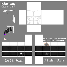 Roblox Transparent Template Collection Of Free Transparent Template Roblox Download On