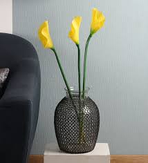 Calla Lily Color Chart Yellow Polyurethane Artificial Calla Lilies By Fourwalls