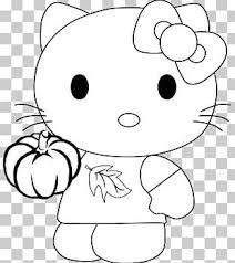 Hello Kitty Coloring Book Cat Character Adult Png Clipart Adult